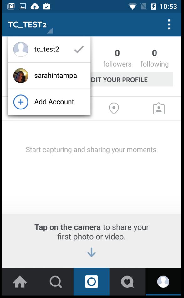 Как выйти из дополнительного аккаунта инстаграм