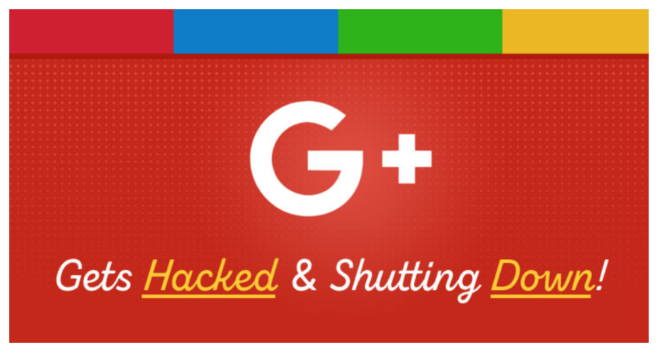 Google + is shutting down, it's official.